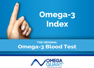 OmegaQaunt Omega-3 Index Test