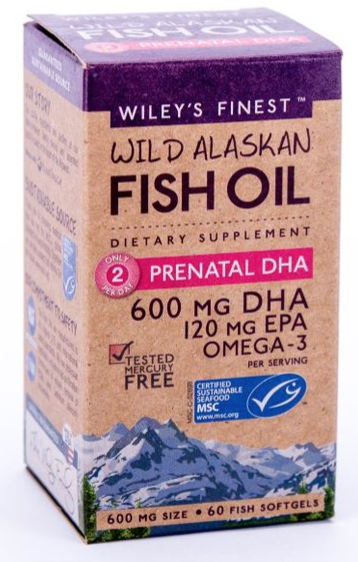Wiley's Finest Prenatal DHA