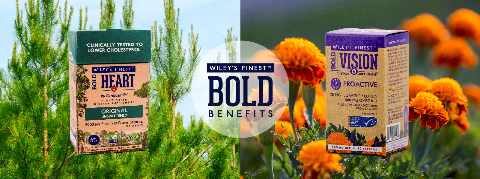 Wiley's Finest Bold Benefits