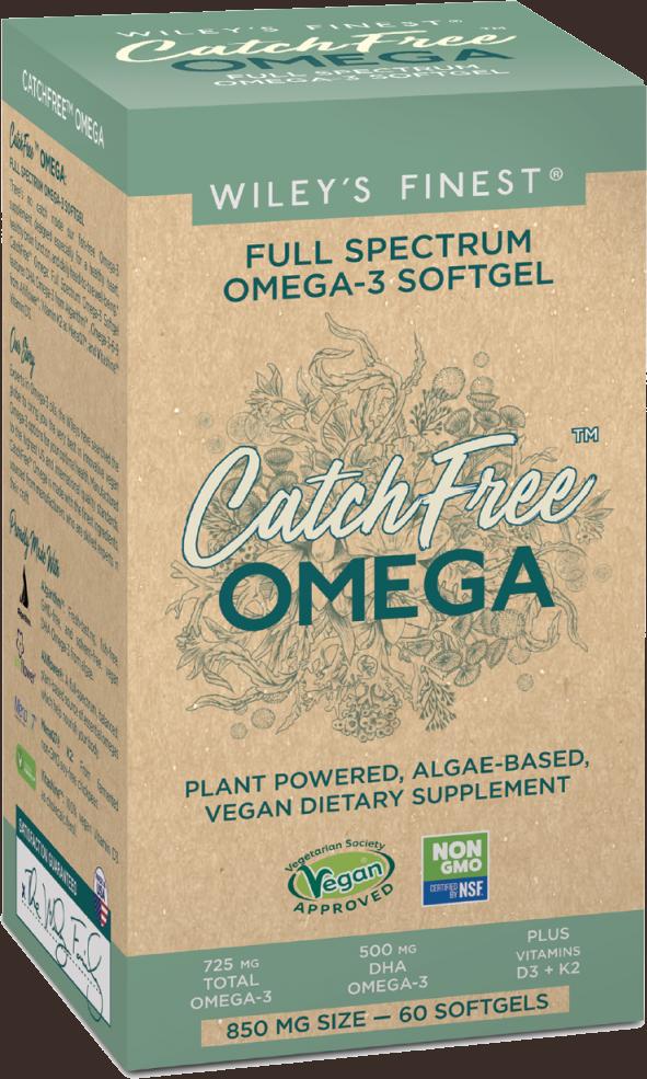 Wiley's Finest Full Spectrum Omega-3 Softgel CatchFree Omega