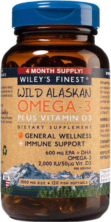 Wiley's Finest Wild Alaskan Omega-3